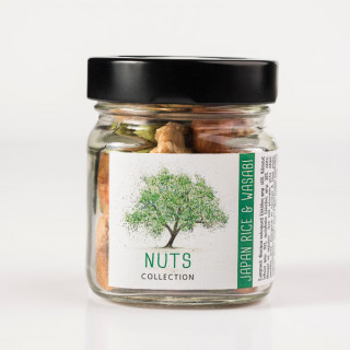 Japan & Wasabi | Nuts Collection Classic Αυτοκόλλητο